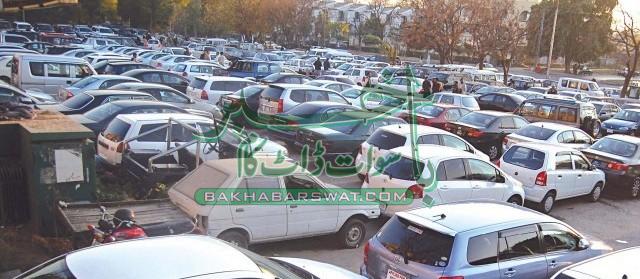 سوات، نان کسٹم پیڈ گاڑیوں کی سمگلنگ عروج پر