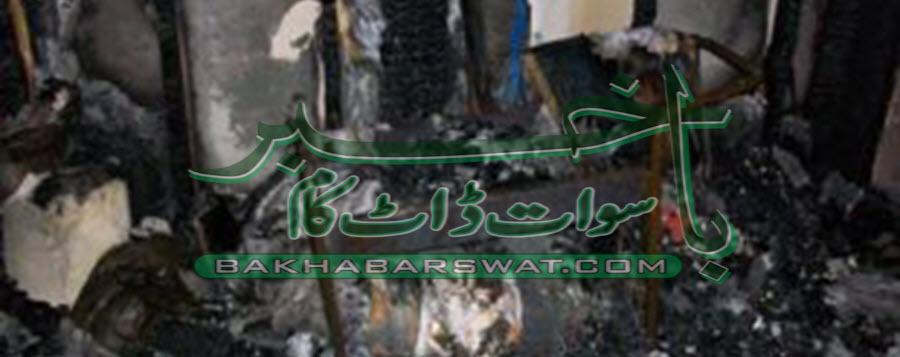 منگلور،نامعلوم افراد نے گاڑیوں اور مکان کو آگ لگا دی