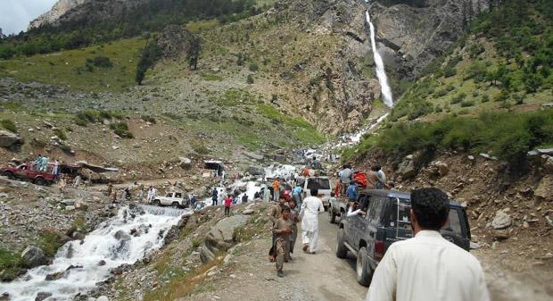 عید الاضحیٰ،  بڑی تعداد میں سیاحوں نے سوات کا رخ کرلیا