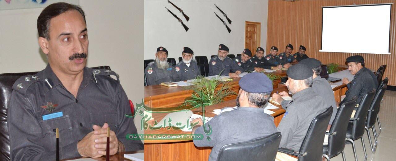 سوات پولیس کا رمضان المبارک کے لیے سیکورٹی پلان کا اعلان