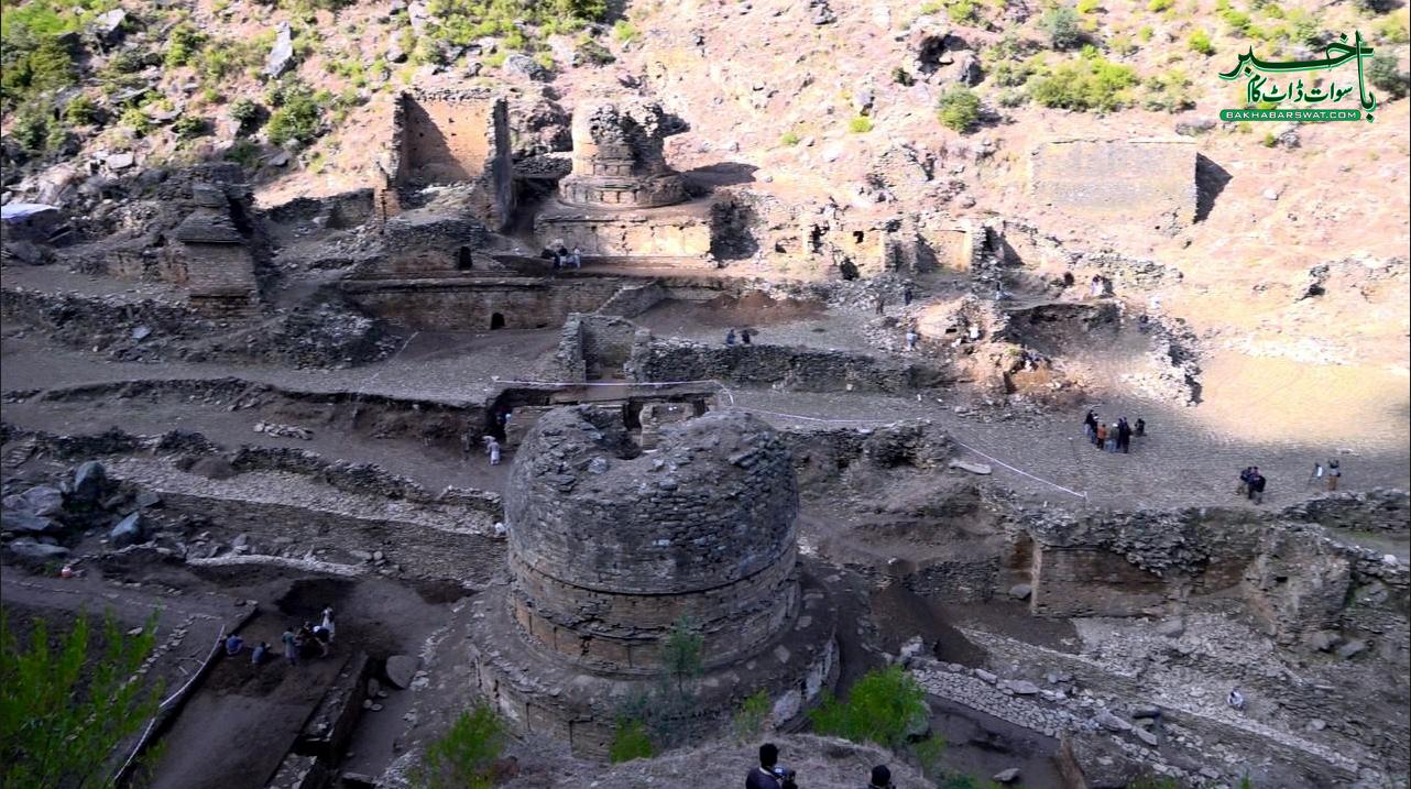 سوات، دو ہزار سال پرانے دور کے آثار دریافت