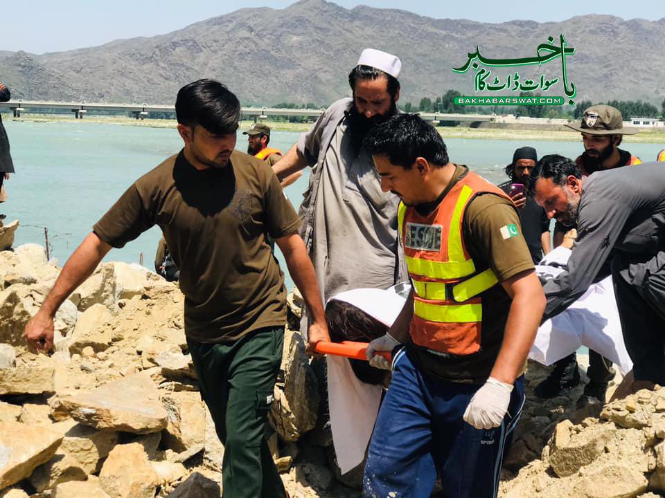 دو نوجوان دریائے سوات میں نہاتے ہوئے ڈوب گئے